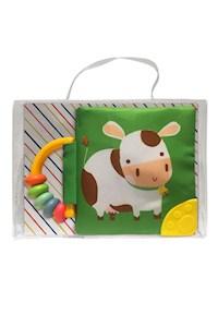 Papel Mi Libro Suave Con Sonajero Y Mordillo: Vaca