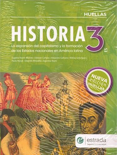 Libro Huellas 3 Es Historia