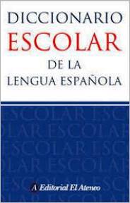 Papel Diccionario Escolar De La Lengua Españo Aten