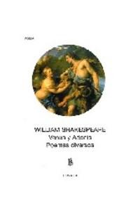 Papel 732-Shakespeare:Venus Y Adonis/Poemas Divers