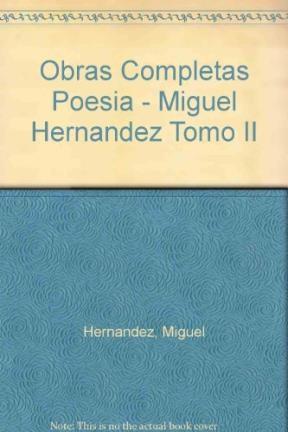Papel OBRAS II - POESIAS COMPLETAS