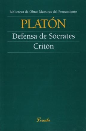 Libro Defensa De Socrates  Criton