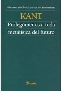 Papel Prolegomenos A Toda Metafisica Del Futuro