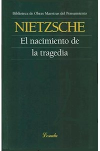 Papel Nacimiento De La Tragedia  El (Omp 112)