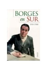 Papel Borges En Sur 1931-1980
