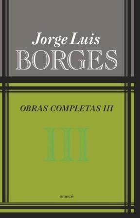 Papel Obras Completas Iii Borges Pk