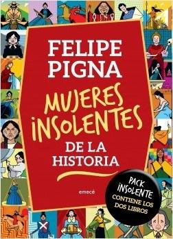 Libro Mujeres Insolentes De La Historia  Tomos 1 Y 2