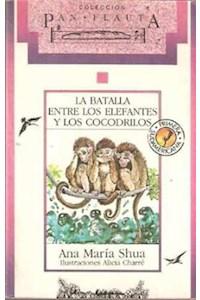 Papel La Batalla Entre Los Elefantes Y Los Cocodrilos