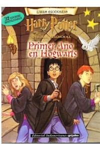 Papel Libro Escenario - Harry Potter (Primer Año En Hogwarts) Stickers