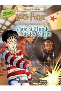 Papel Libro Escenario - Harry Potter (Viaje Al Mundo De Los Magos) Stickers