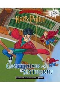 Papel Libro De Stickers - Harry Potter (Gryffindor Vs Slytherin)