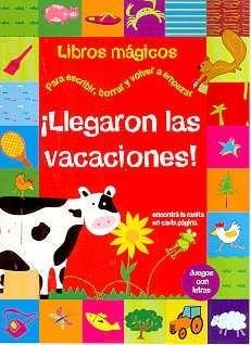 Papel Llegaron Las Vacaciones Libros Magicos