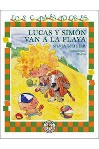 Papel Lucas Y Simon Van A La Playa