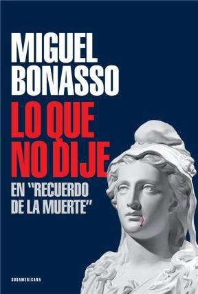Libro Lo Que No Dije En ' Recuerdo De La Muerte '