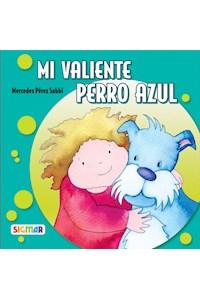 Papel Mi Valiente Perro Azul  - Mercedes Pérez Sabbi