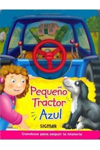 Papel Pequeño Tractor Azul
