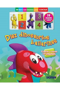 Papel Diez Dinosaurios Bailarines