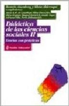 Papel Didactica De Las Ciencias Sociales Ii. Teorias Con Practicas