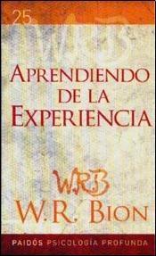 Papel APRENDIENDO DE LA EXPERIENCIA (PSICOLOGIA PROFUNDA 25)