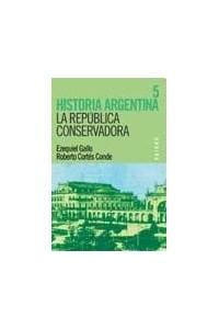 Papel Historia Argentina. Tomo V