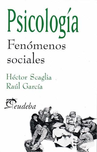 Papel Psicología. Fenómenos sociales