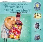 Papel ¿Querés saber qué son las vitaminas y minerales?