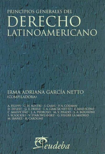 Papel Principios generales del derecho latinoamericano