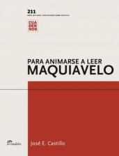 Papel Para animarse a leer Maquiavelo