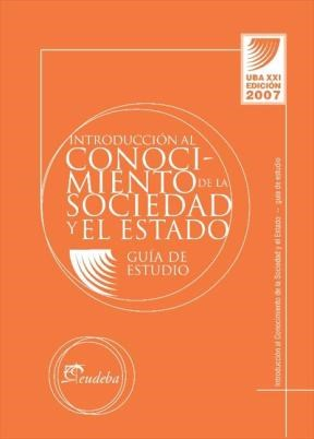 E-book Guía Introducción al Conocimiento de la Sociedad y Estado