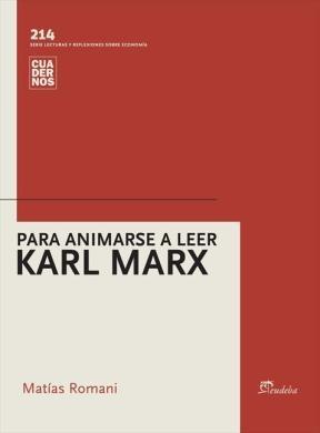 E-book Para animarse a leer Karl Marx