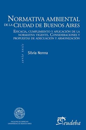 Papel Normativa ambiental de la Ciudad de Buenos Aires