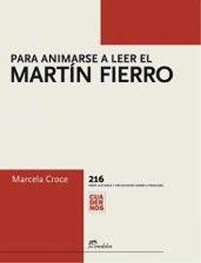 Papel Para animarse a leer el Martín Fierro