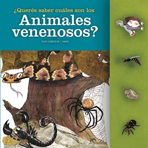 Papel ¿Querés saber cuáles son los animales venenosos?
