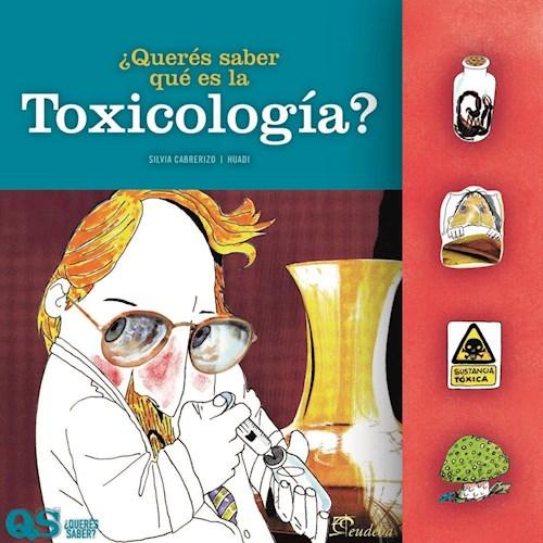 Papel ¿Querés saber qué es la toxicología?