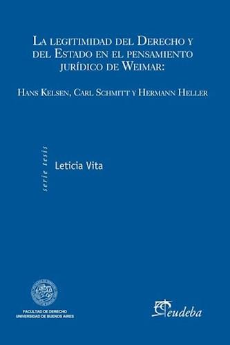 Papel La legitimidad del Derecho y del Estado en el pensamiento jurídico de Weimar
