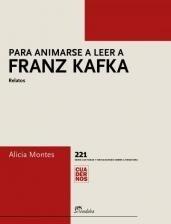 Papel Para animarse a leer a Franz Kafka