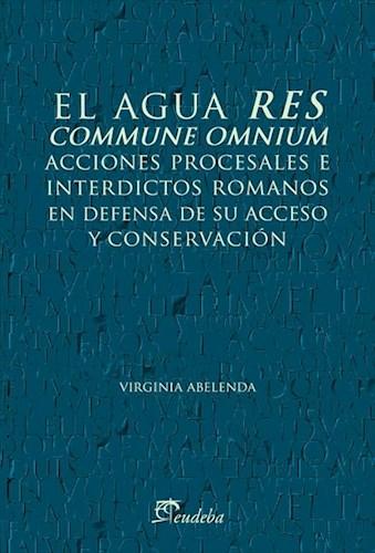E-book El agua res commune ómnium
