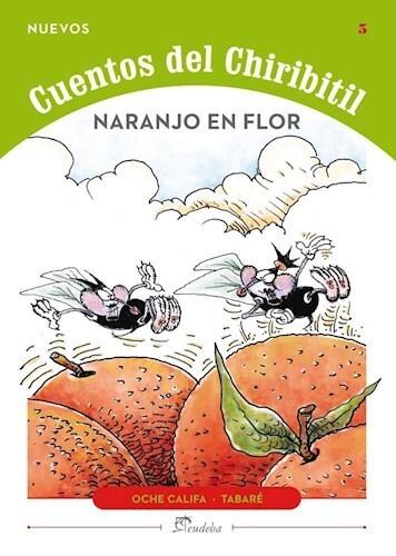 Papel Naranjo En Flor