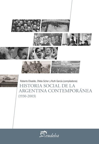 E-book Historia social de la Argentina contemporánea (1930-2003)