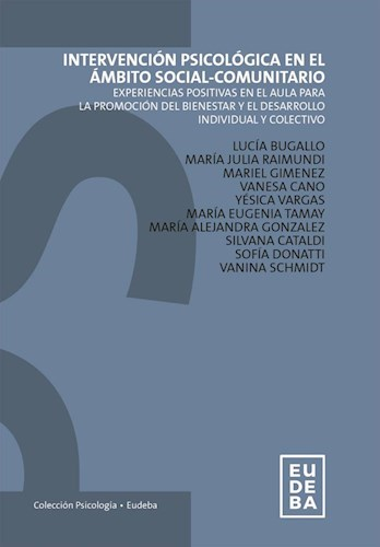 Papel Intervención psicológica en el ámbito social-comunitario