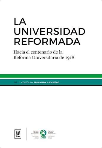 Papel La universidad reformada