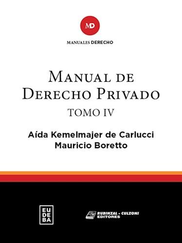 Papel Manual de Derecho Privado Tomo IV