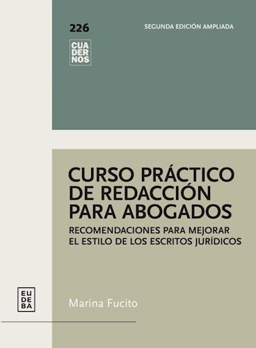 Papel Curso práctico de redacción para abogados