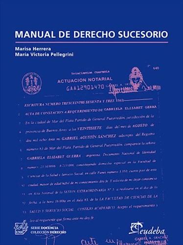E-book Manual de derecho sucesorio