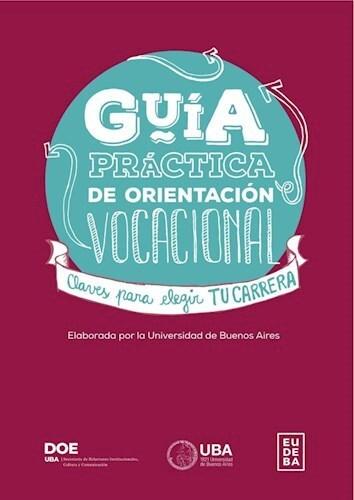 Papel Guía práctica de orientación vocacional