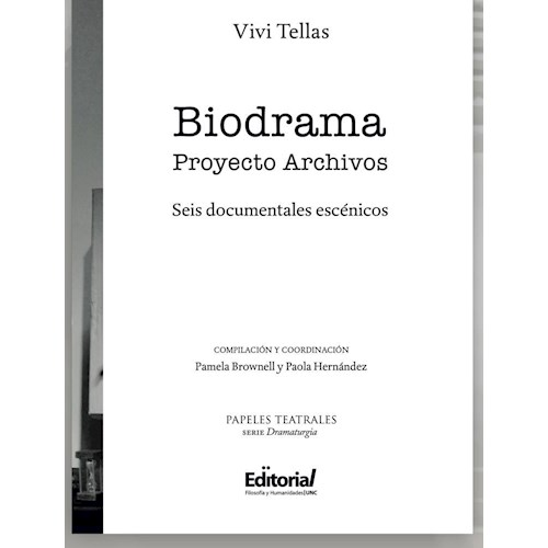 Papel BIODRAMA - PROYECTO ARCHIVOS