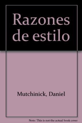 Papel RAZONES DE ESTILO