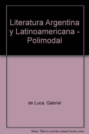 Papel Literatura Argentina Y Latinoamericana Sant