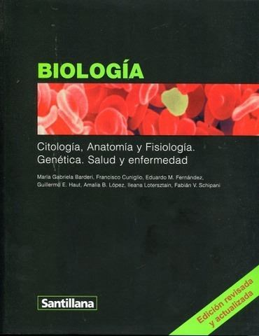 Papel Biologia Santillana Citologia Anatomia Y Fisiologia