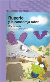 Papel RUPERTO Y LA COMADREJA ROBOT (SERIE VIOLETA) (8 AÑOS)